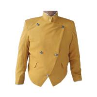 Beskap Solo Sikep Kuning Gold Baju Adat Jawa