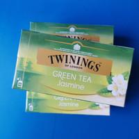 Twinings Jasmine Green Tea   Teh Celup isi 25   Teh Seduh Kesehatan