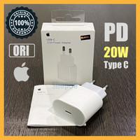 Adaptor Charger 20W Type C Fast Charge Original Apple iPhone iPad Ori