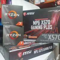 Paket Ryzen 7 3800x + MSI MPG X570 GAMING PLUS