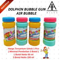 Refill Bubble Gun Bubble Isi Ulang Gelembung Balon Sabun Water KGP-25