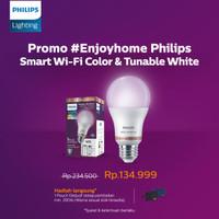 Philips Lampu Smart WiFi LED 9W - Color and Tunable White (Warna)