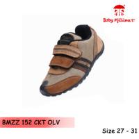 Baby Millioner BMZZ 152-CKT OLV / sepatu anak kecil / sepatu bayi - 26