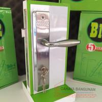 Paket Handle Handel Kunci Pintu Rumah Set Belleza Stainless HPS 127