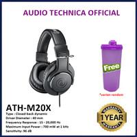 Audio-Technica ATH-M20X M20 X Professional Monitoring Headphones