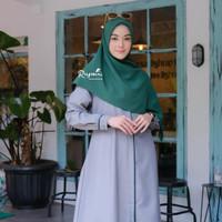 Baju Gamis Wanita Premium Gamis Syari Busui Toyobo Polos