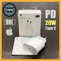 Adaptor Charger 18W Type C Fast Charge Original Apple iPhone iPad Ori