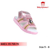 Baby Millioner BMES 151-PKR PK / sepatu anak kecil / sepatu sandal