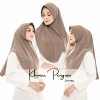 Hijab Instan Rabiah Bahan Jersey Motif Polos - Jilbab Simpel Daily