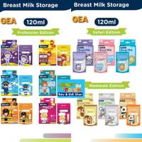 Kantong asi GEA BABY 120ml Breastmilk Storage Profession, Animal 30pcs
