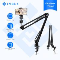 INBEX Overhead Kamera Tripod+3.3 inch HP Holder Arm Cantilever Stand