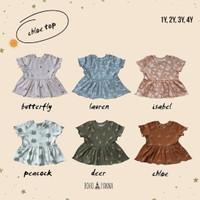 Baju Anak Perempuan Chloe Top - Bohopannaa