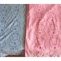 baju handuk anak REMAJA DEWASA model pendek gambar lucu tulisan skip