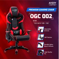 OGC002 - kursi gaming avery dengan back support