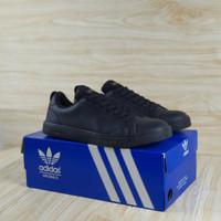 Adidas Neo Advantage Black / Hitam Sepatu Sneakers Sekolah Pria Wanita - 1, 39