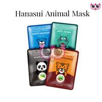 ANIMAL SHEET MASK / MASKER ANIMAL HANASUI PER SACHET