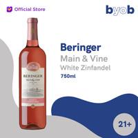 Beringer Main & Vine White Zinfandel Wine - 750ml
