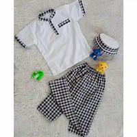 sarkoci/sarung koko peci/baju muslim anak laki laki usia 2-5 tahun