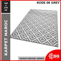 [Carpet Shop ID] Karpet Maroc 160X210 - KODE 06 GREY