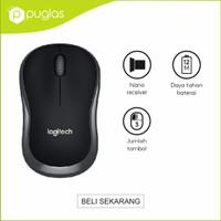 Mouse Wireless Logitech B175 2.4Ghz For Komputer Notebook PC Laptop