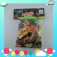 Animal World Set / Set Mainan Figurine Binatang