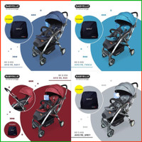 Stroller BabyElle Avio RS S939 Cabin Size Free Bag Kereta Bayi 2 Arah