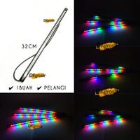Lampu LED Strip Variasi Motor otomatis kedip running 32cm Fleksibel