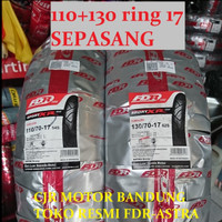 Paket FDR Sport XR EVO 110 70 & 130 70 ring 17 ban motor Vixion CBR