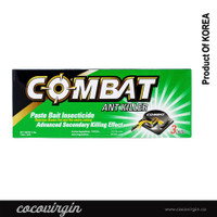 COMBAT PASTE BAIT INSECTICIDE - ANT KILLER 3 BAITS MADE IN KOREA