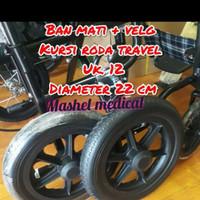 ban mati kursi roda ukuran 12