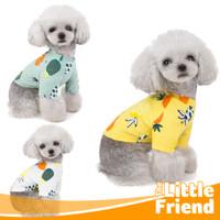 Baju Kucing Anjing Jantan/Baju Anak Kucing Anak Anjing PINEAPPLE Shirt