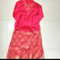 Baju Preloved Setelan Kebaya Kurung Minang Fit S