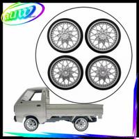Upgrade Ban & velg drift WPL D12 RC Car / truck Suzuki Carry
