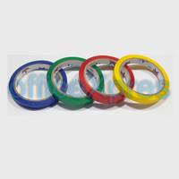 Bag Sealer / Paket Solatip / Isolasi Warna / Alat Pengikat Plastik - 12mm 20roll red