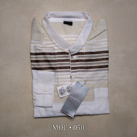MOC - Baju Koko Lengan Panjang Pria - Slimfit n Reguler