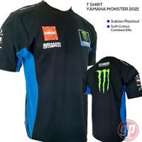 T Shirt Motogp Yamaha Monster 2021
