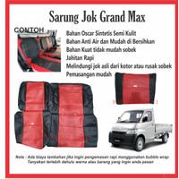 SARUNG JOK MOBIL Grand Max PICK UP Sarung Mobil Cover Jok Grand Max