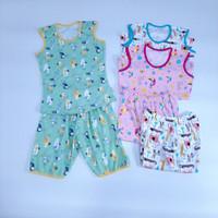 Baju Anak Bayi Little Q Setelan Kutung Perempuan SNI