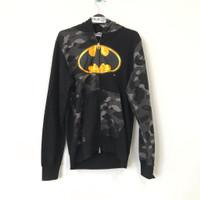 Bape X DC Batman Full ZIP Hoodie 100% Original - Hitam, M