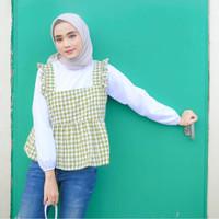 Marco Blouse 2in1 Atasan Baju Muslim Wanita Remaja Terlaris