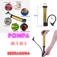 POMPA BAN Sepeda Motor Mini Pompa Angin Mini Portable Bola Balon Kolam