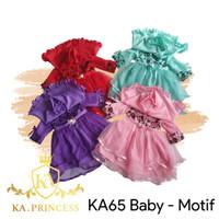Baju Muslim Bayi Gamis Anak Perempuan 0-12 bulan KA65 Motif Princess