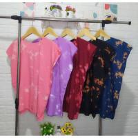 Atasan / Kaos / Blouse / Baju Bali Tie Dye Smoke