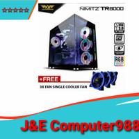 Armageddon Nimitsmz TR8000 Extanded ATX Gaming PC case - Hitam