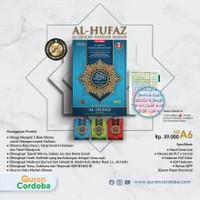 Alquran Hafalan Terjemah Al-Hufaz Tajwid Warna uk A6, Al-Quran Alhufaz