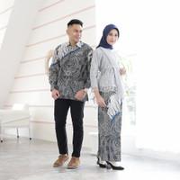 Batik Couple Gamis Murah Sarimbit Baju Batik Kebaya Modern