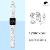 Strap Apple Watch 44mm / 42mm / 40mm / 38mm Tali Smartwatch iWatch - ASTRONOMI, 38/40