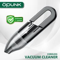 OPUNK MINI CAR CORDLESS VACUUM CLEANER PORTABLE WIRELESS VACUUM