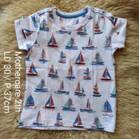 Mothercare original preloved baju kaos / T shirt anak 2 tahun katun