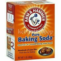 arm n & hammer hamer pure tepung baking backing soda powder 454 gr USA